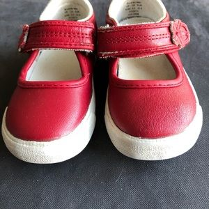 KEDS LITTLE TODDLER ELLA MARY JANE RED SHOES
